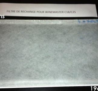 Filtre à Poussière WineMaster C18