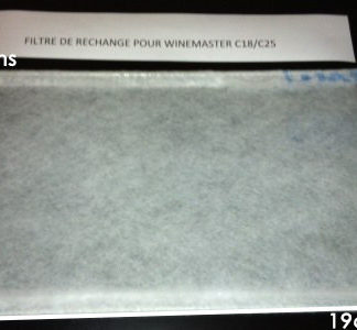 Filtre à Poussière WineMaster C25