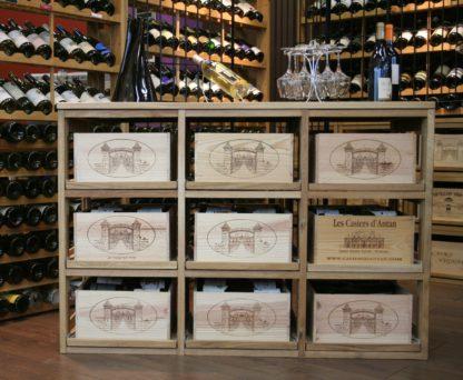 Rangement 9 Caisses de Vin WineMaster